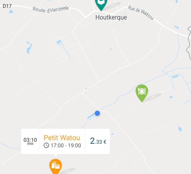 Géolocalisation application mobile de livraison collaborative Android & iOS